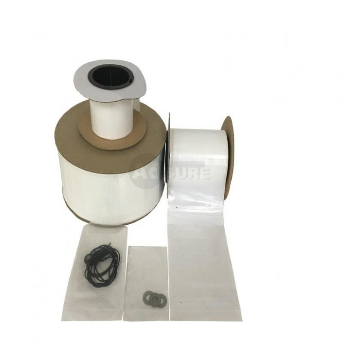 automated clear plastic bags on rolls