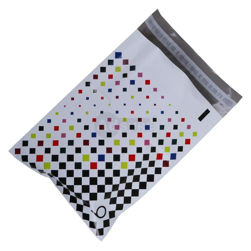 custom colored poly mailers