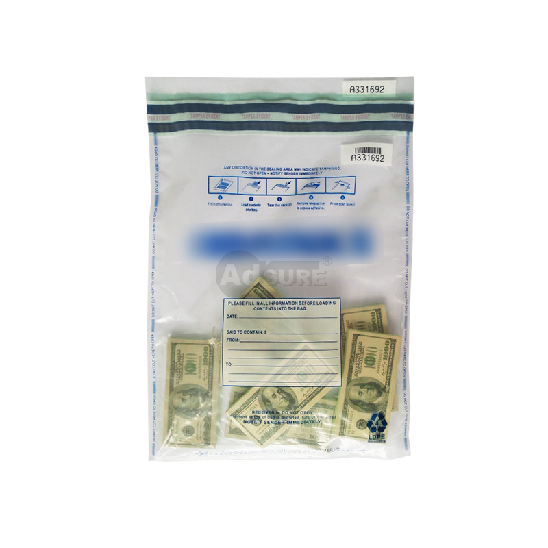 CIT Clear Deposit Bags