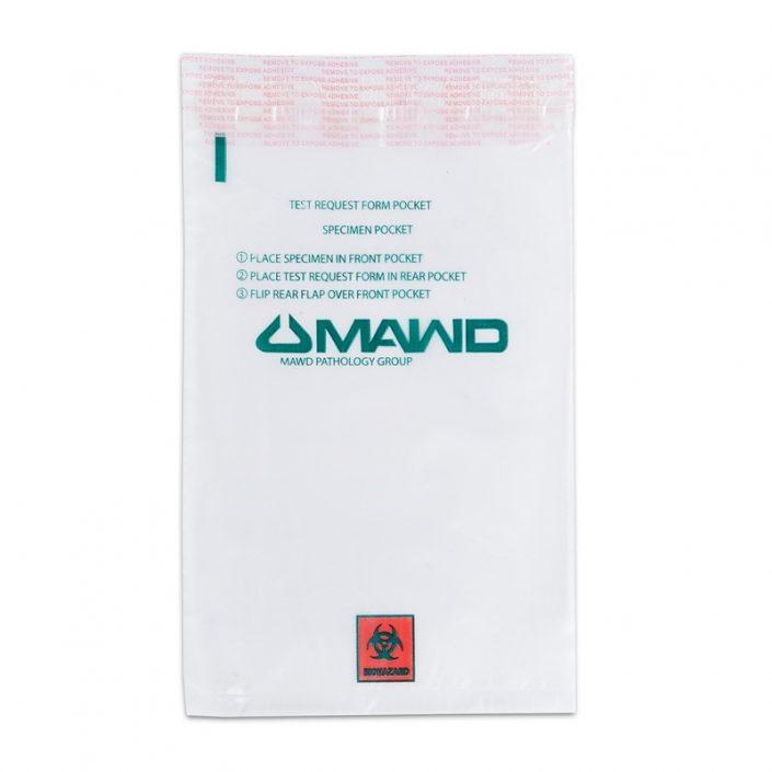 custom biohazard specimen bags