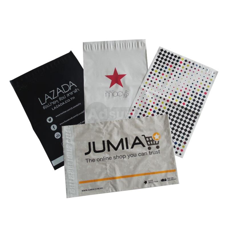 custom branded poly mailing bags