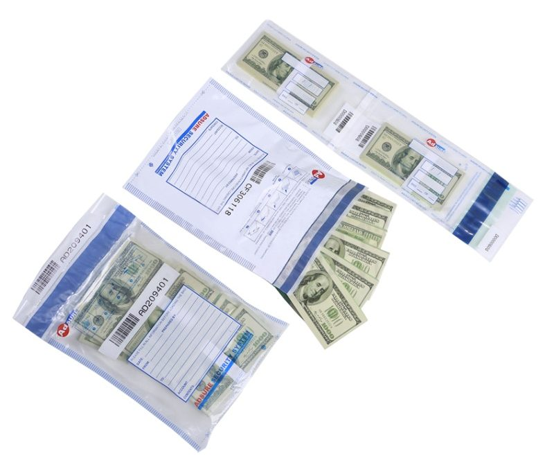 bank deposit bags