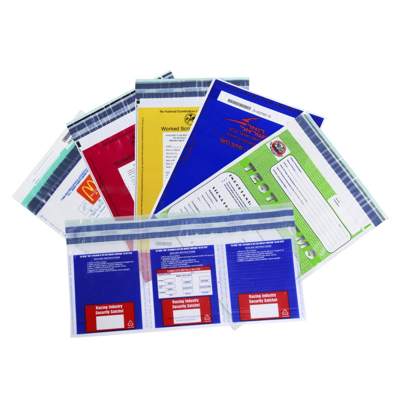 Custom Tamper Evident Security Bags