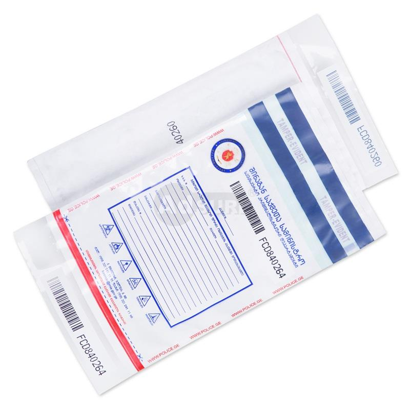 plastic police forensic security evidence bags