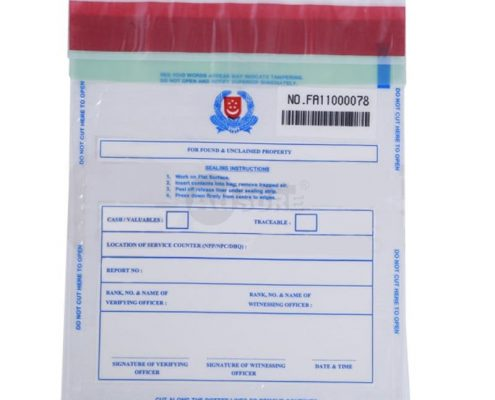 plastic police forensic evidence bags