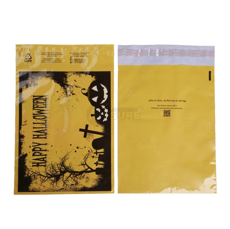 halloween design poly mailers