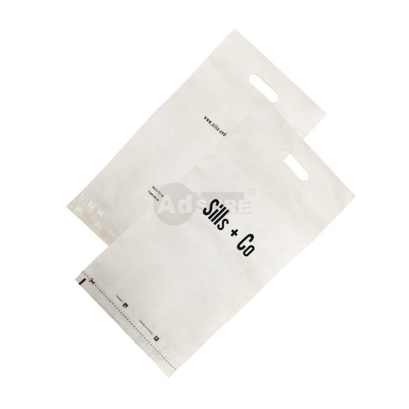 hot stamping tyvek mailers with handle