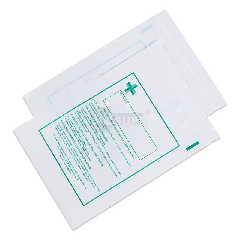 Reclosable Tablet Dispensing Bags