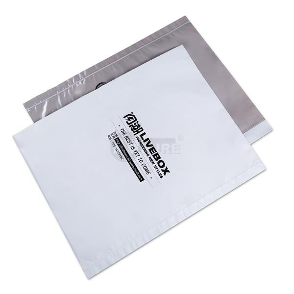 1 side clear 1 side opaque mailing bags