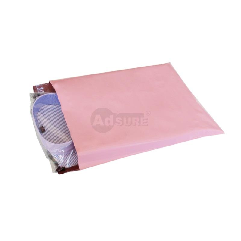 pink courier bags