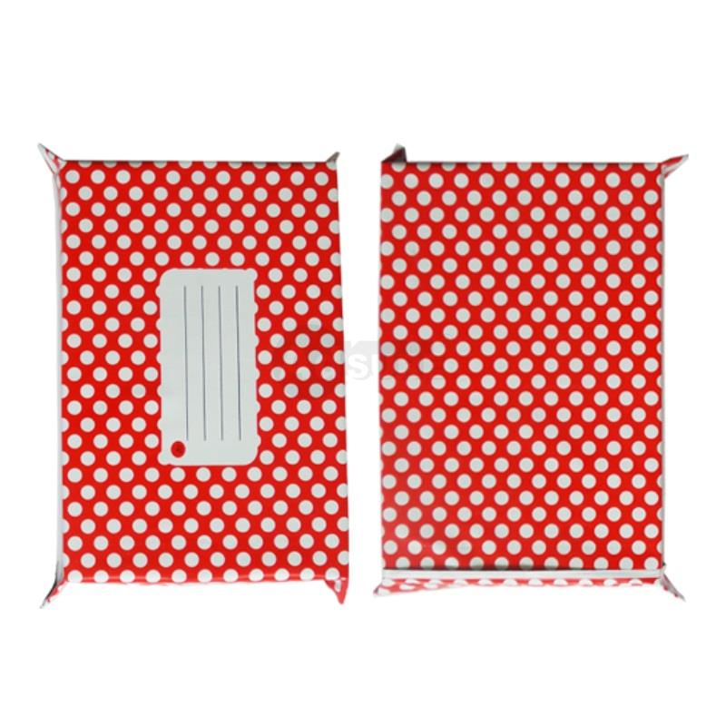 Red Polka Dot Design Poly Mailers