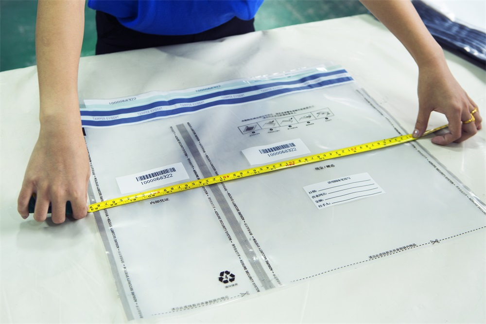 Quality Checking-Security Tamper Evident Bags