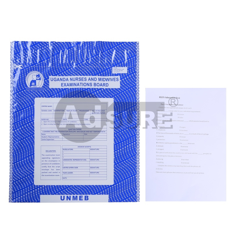 Confidential Document Security Bags