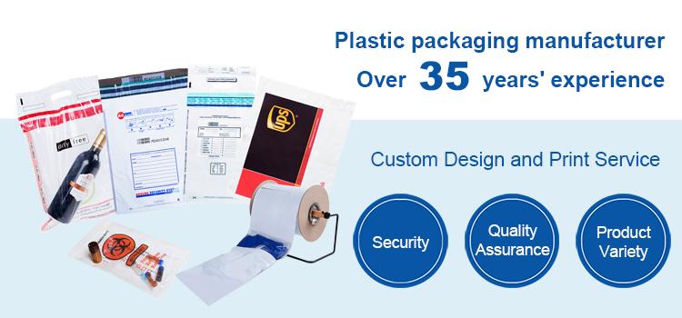 Tamper Evident Security Bags Manufacturer