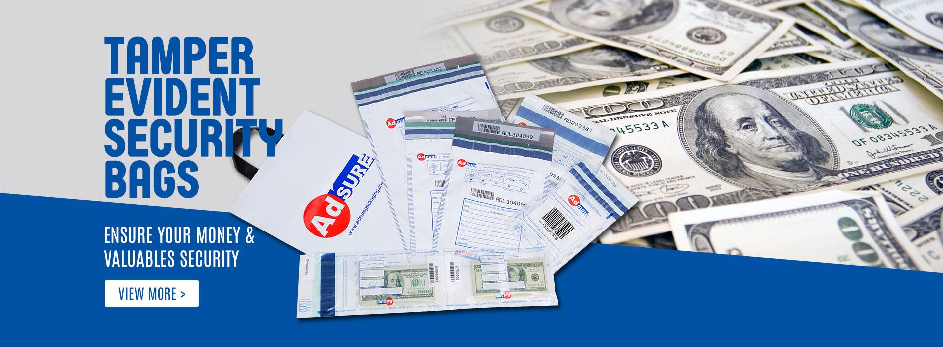 Security Bags,Bank Deposit Bags,Tamper Evident Bags
