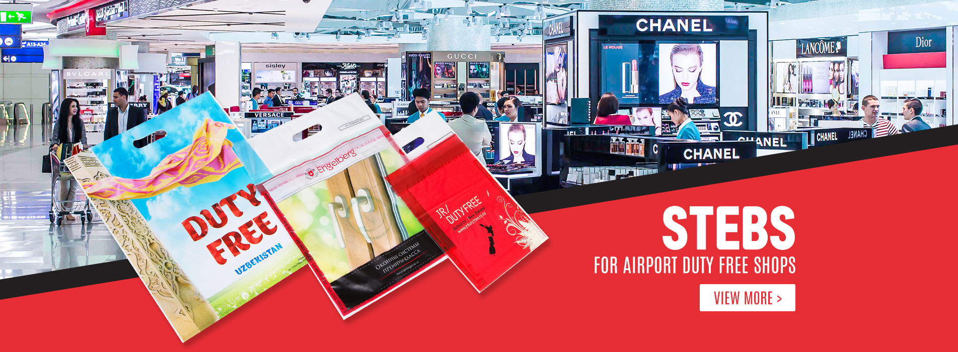 ICAO STEBs for Airport Duty Free Shops