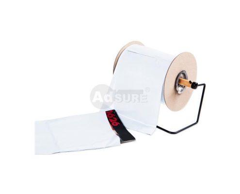Custom Plain White Opaque Pre-opened Auto Bag on a Roll