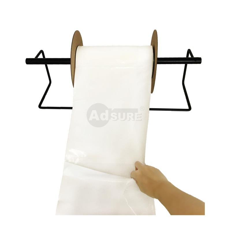 Plain White Opaque Pre-opened Auto Bag on a Roll for for Automated Packaging Machines