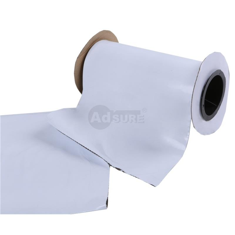 Plain White Opaque Pre-opened Auto Poly Bag on a Roll