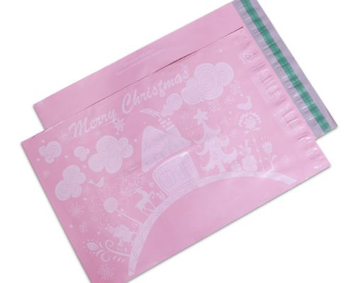 pink postage bags