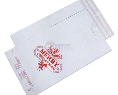 christmas design poly mailers