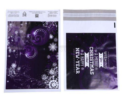 christmas design mailing bags