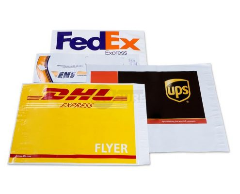custom courier shipping bags
