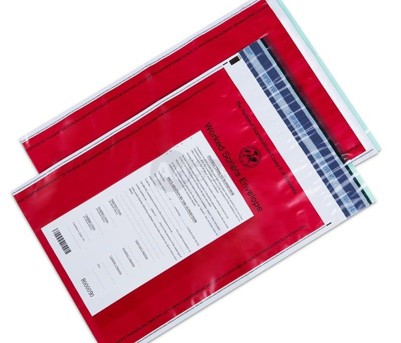 secure examination paper transit bags