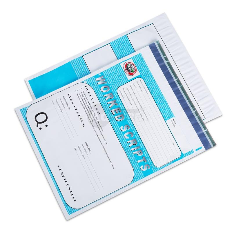 Tamper Evident Exam Bags for Question Paper