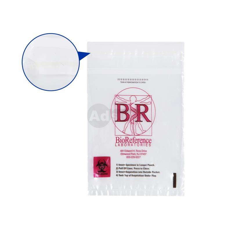 Leak-Proof Biohazard Specimen Transport Bags