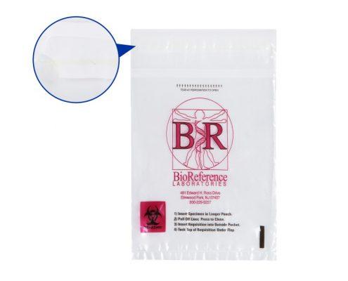 Leak-Proof Specimen Bags
