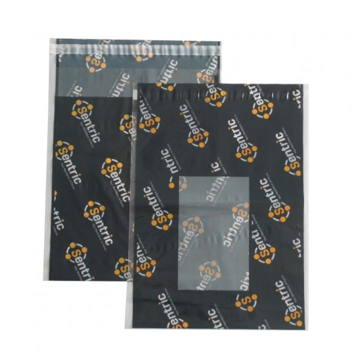 Poly Mailers with Clear Window