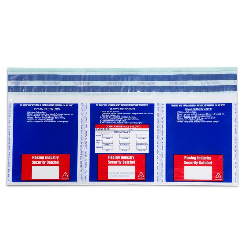 Security Deposit Bags for Retail Chain Stores