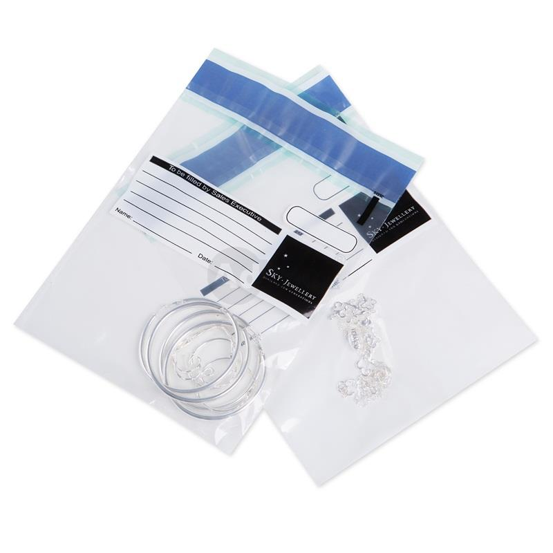 Custom Security Deposit Bags for Retail Chain Stores