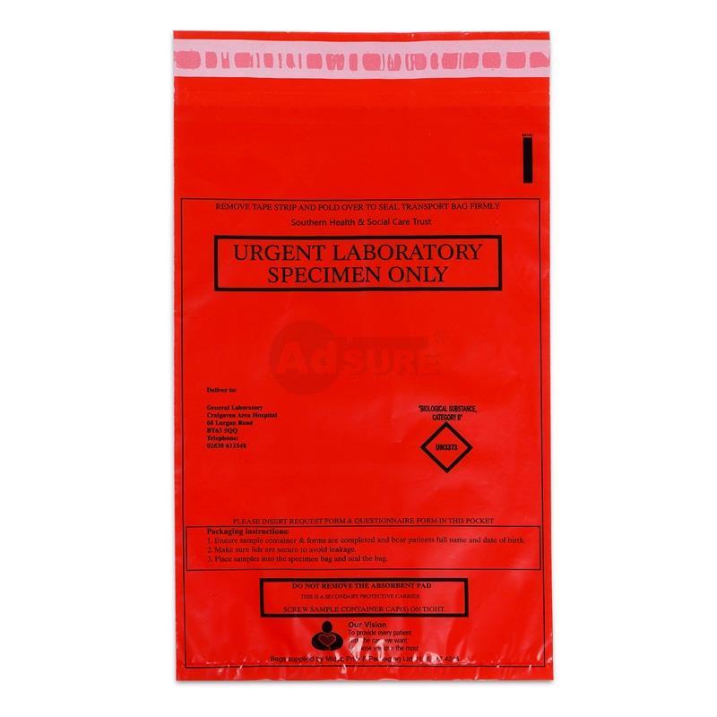 Specimen Bags for UN3373 Biological Substance