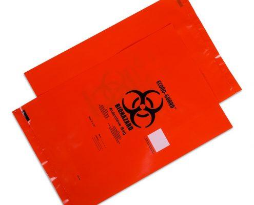 Autoclave Biohazard Bags with Sterilization Temperature Indicator Patch