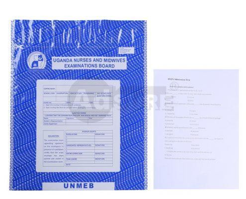 confidential document security examination bag