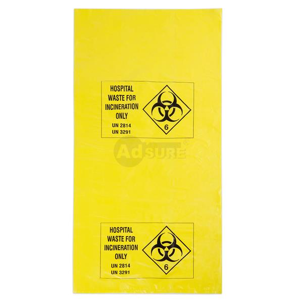 medical biohazard waste bags