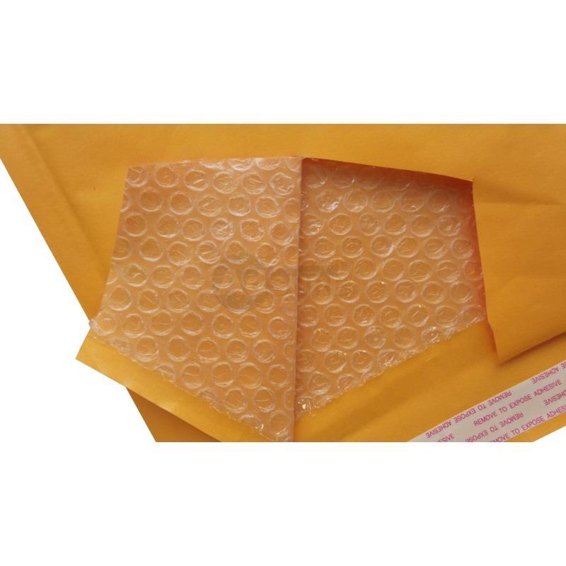 gold kraft bubble mailers