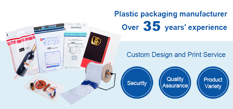 Tamper Evident Security Bags Manufacturer